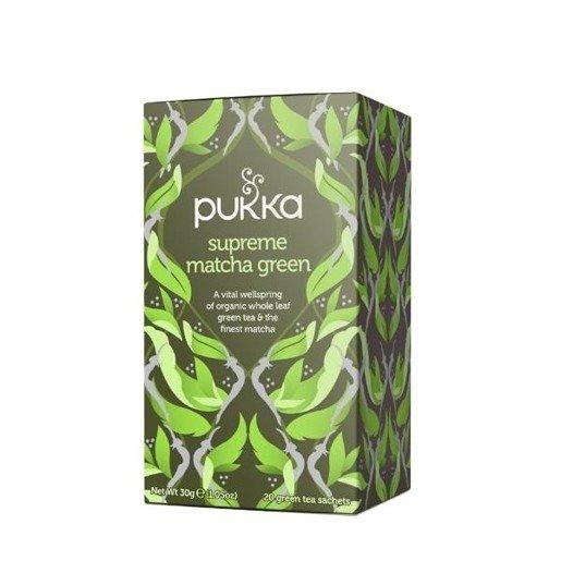Pukka Supreme Matcha Green BIO  - 20 saszetek