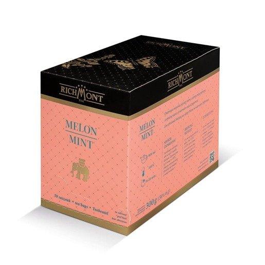 Richmont Melon Mint 50x4g herbata w saszetkach