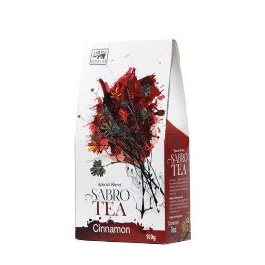 Sabro Tea Cinnamon - czarna herbata z cynamonem 100 g