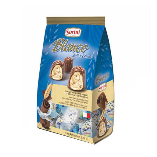 Sorini Blanco Latte e Cereali 250g włoskie praliny