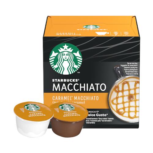 Starbucks Dolce Gusto Latte Macchiato Carmel 12 kapsułek