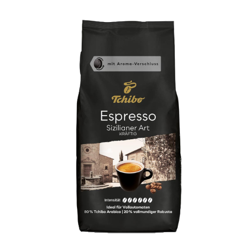 Tchibo Espresso Sizilianer Art 1 kg kawa ziarnista