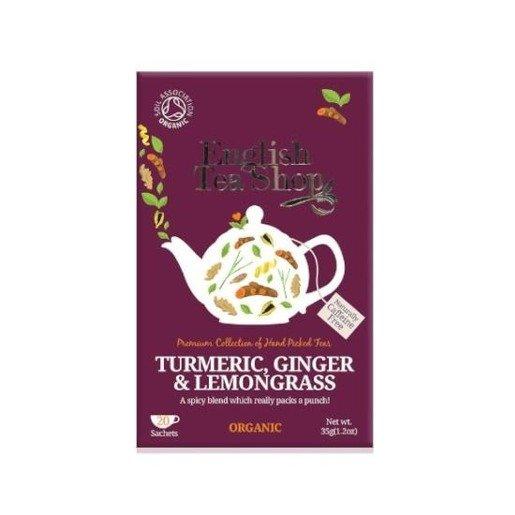Turmeric, Ginger & Lemongrass - 20 saszetek