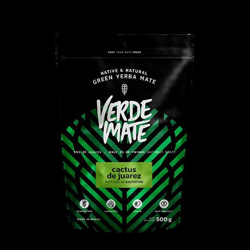 Yerba Mate Green Verde Mate Cactus de Juarez 500g