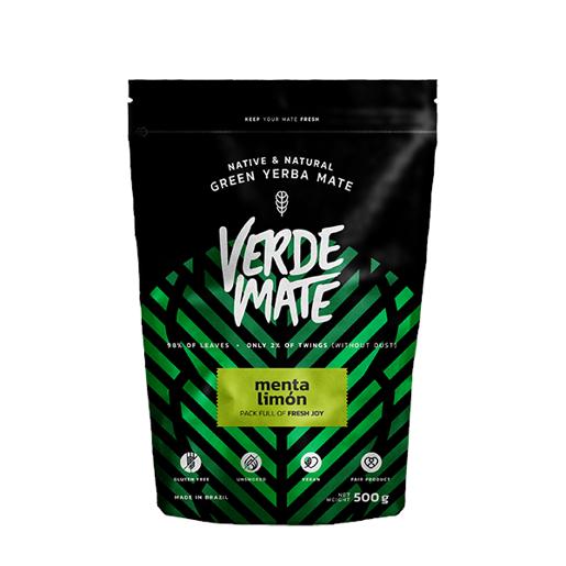 Yerba Mate Green Verde Mate Menta Limon 500g