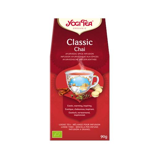 Yogi Tea Classic Chai (Klasyczny czaj) herbata sypana 90 g