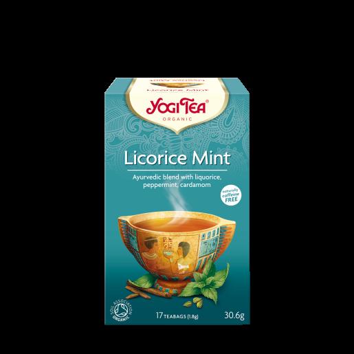 Yogi Tea Licorice Mint (lukrecja z miętą) 17 saszetek
