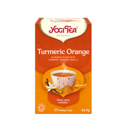 Yogi Tea Turmeric Orange 17 saszetek