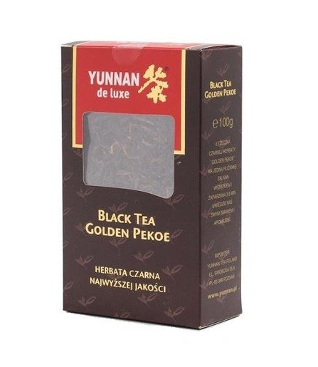 Yunnan De Luxe Black Tea Golden Pekoe 100g