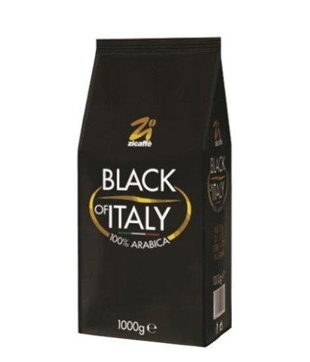 Zicaffe Black of Italy 1 kg kawa ziarnista x 6