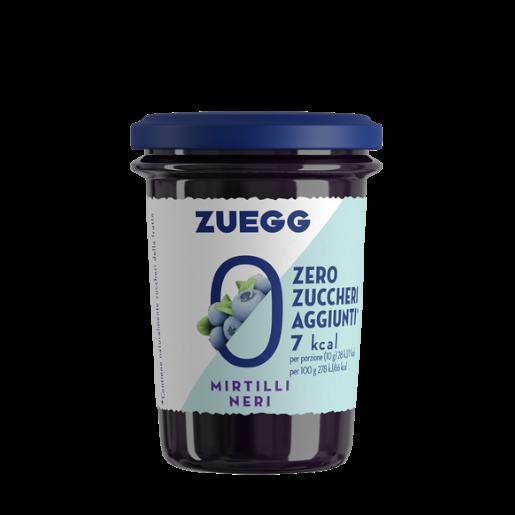 Zuegg Dżem z czarnych jagód bez dodatku cukru 220g